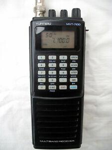 Yupiteru MVT-7100 1000 Channel Receiver boxed c/w carger manual aerial batts