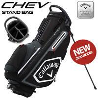 Callaway Chev Golf Stand Bag Black/White/Titanium - NEW! 2020