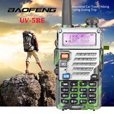 Camouflage Baofeng UV-5RE Two Way Dual Band FM Ham Radio UHF/VHF Walkie Talkie