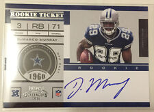 DeMarco Murray 2011 Playoff Contenders RC Ticket on-card Autograph Auto  COWBOYS