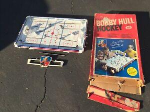 Bobby Hull Table Hockey Game w/ Orig Box, Canadiens vs. Maple Leafs