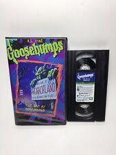 VHS Goosebumps One Day At Horrorland Horror Replica Art Display