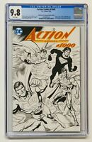 "Action Comics #1000 CGC 9.8 Dynamic Forces JURGENS ""SKETCH"" Edition Variant"