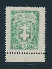 LITHUANIA 1926, Mi. 270 A Y **, rare watermark! Very fresh and fine!!