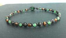 anklets stone anklets gemstone anklets women Lava anklets tiger eye anklets jade