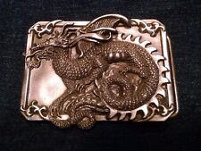 Rare Vintage 1984 Siskiyou Dragon Belt Buckle D-29 Fantasy Art