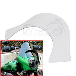 Clear Lip Windshield Windscreen Shield Fairing For Harley Softail FXST Iron 883