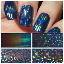 7Stk Nagelfolie Nail Art Starry Sky Nagelsticker Nail Foils Transfer Tips Dekor
