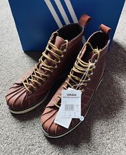 Adidas Superstar Leather Boot Brown (UK 11.5)