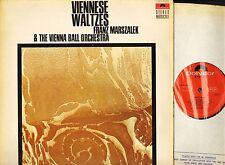 FRANZ MARSZALEK viennese waltzes 583 505 uk polydor stereo musicale LP PS EX/VG