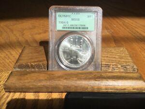 Beautiful 1984-S (ICG-MS68) Olympic Silver Dollar