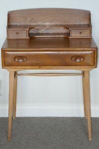 Vintage Ercol Model 479 Writing Desk - Blue Label