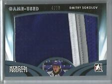 Dmitry Sokolov 15/16 Heroes & Prospects Game Used Jersey Patch #4/10