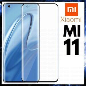 For XIAOMI MI 11 FULL COVER TEMPERED GLASS SCREEN PROTECTOR GENUINE GUARD MI11