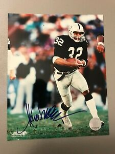 MARCUS ALLEN AUTOGRAPHED SIGNED 8 X 10 PICTURE OAKLAND RAIDERS