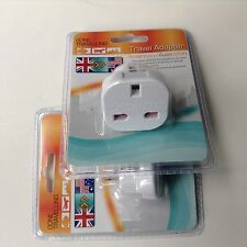 X 1 Travel Adapter - American/Australian holidays and travel essentials  £1.99