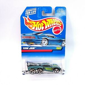 Hot Wheels 1998 Tow Jam-Green NOS
