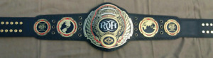ROH Ring of Honor Championship Wrestling Leather Belt Replica Adult Size