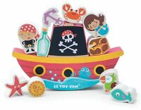 Le Toy Van TRADITIONAL TOYS PIRATE ROCKING TOY Wooden Toy BN