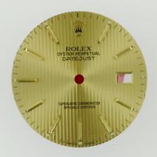 Original Men Rolex Datejust 16013 16233 16203 Champagne Tapestry Dial 2/T #C14