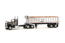 WSI 39-1005 Caterpillar CT680 6x4 w/East Dump Trailer - Grey 1/50 Die-cast MIB