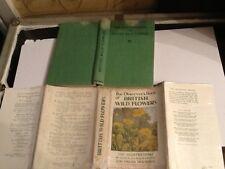 Observer book of British wild flowers 1943