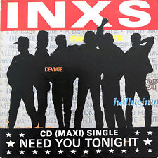 INXS ‎Maxi CD Need You Tonight - Germany (VG/EX+)