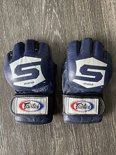 Fairtex Strikeforce Mme Gloves Blue Large Combat Sparring Compeition Fgv12