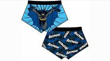 NEW DC Batman Adult Men's Boxer Shorts Underwear Novelty Superhero Retro Boxers