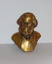 Germany communist KARL MARX bust statue sc. Tomsky H=11cm