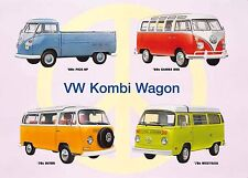 VW CAMPER VAN VINTAGE METAL SIGN GARAGE:MAN-CAVE:HOME DECOR: IDEAL GIFT