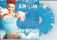 KIM-LIAN - Hey Boy! CD SINGLE 2TR Enhanced 2004 CARDSLEEVE HOLLAND