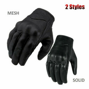 2019 Men Real Leather Motorcycle Gloves Moto Waterproof Gloves Motocross Glove