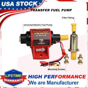 Electric Fuel pump 42S Low Pressure Micro Electric 28 GPH Black Polymer Gasoline