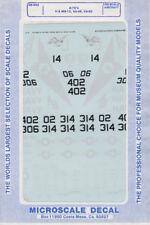1:48 - a-7 e 's h/ms-12/va-46/va-82/Microscale decal nº 292