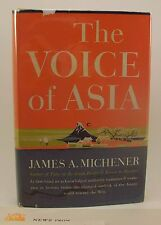 JAMES A MICHENER The Voice of Asia 1st/1st HB/DJ Review Copy