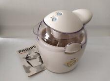 Philips Cucina Eiscreme Automat Eismaschine HR 2305/Bedienungsanl., kaum genutzt