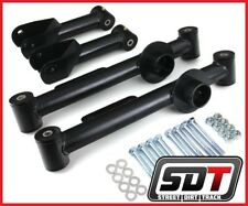 SDT Ford Mustang Full Set 4 Piece Rear Steel Control Arms Kit Black
