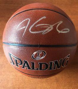 Kevin Durant Golden State Warriors Signed Autographed NBA I/O Basketball JSA COA
