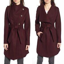 1 Guess coat Wool Military Asymmetrical belted 3/4 Length stylishjacket $269