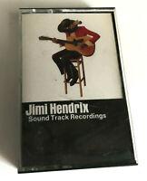 JIMI HENDRIX Soundtrack Recordings - Cassette Tape - EX (RARE!)