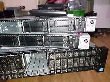 HP DL360P gen 8 dual e5-2690 192gb ram 12TB sff rail kit 2gb p420i 530FLR sfp