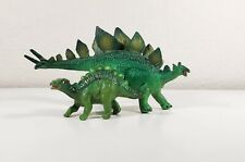 Wild Safari Dinosaur Toy Stegosaurus Green Safari Ltd Lot Retired Collectibles