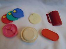 Vintage Tupperware Magnets Fridge  6 Magnets COOL!   Modular Mate + MORE