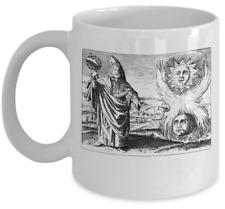 Esoteric coffee mug - Thrice greatest Hermes Trismegistos symbol Alchemy occult