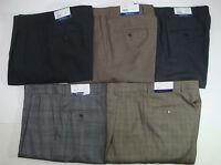 NWT $150 HART SCHAFFNER MARX WOOL CLASSIC DRESS PANTS MENS 32 34 35 NEW