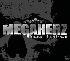 CD Megaherz Totgesagte Leben Länger  Rammstein Style incl Heuchler und Miststück