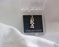Kappa Delta Sterling Silver Letter Charm/Lavalier