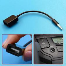 V1 3.5mm Male AUX Audio Plug Jack to USB 2.0 Female Converter Cable Cord Car MP3