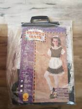 Rubies Girls 'French Maid'  Costume, Black/White size small 3 to 5 year